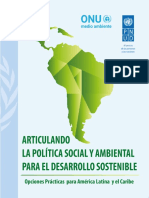 Articulating Social and Env Policy