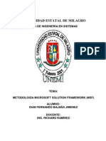 Metologia Microsoft Solution Framework