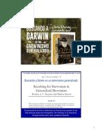 Buscando a Darwin en Un Darwinismo Generalizado (1)