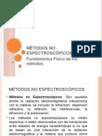 Métodos No Espectroscópicos