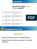 Graphing Function