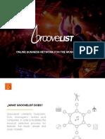 GrooveList - Pitch Deck 2017