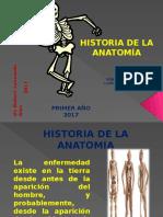 1.Historia de La Anatomia 2017