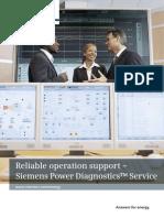 Siemens ReliableOperationSupportSiemensPowerDiagnosticsService