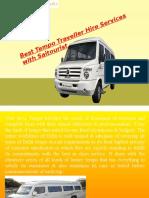 Tempo Traveller Hire in Delhi