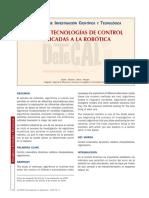 Nuevas Tecnologias Aplicadas a La Robotica