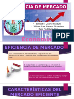 Eficiencia de Mercado Economia