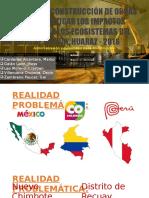 Gestión Post construcción de obras civiles para mitigar los impacto ambientales en recuay
