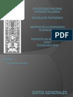 Dinet - Final Presentación1-2003 (proyecto de innovación)