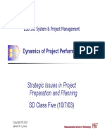 Dynamics of Project Performance - MIT - Prof.phd DHV