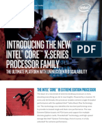 Core x Series Processor Family Product Brief
