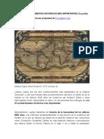 Los 10 Acontecimientos Históricos Más Importantes (2500 años)