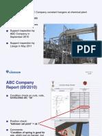 Chemical Plant Pipe Cracks