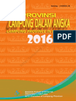 Provinsi Lampung Dalam Angka 2016bY Adien Satria