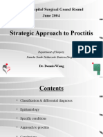 Strategic Approach to Proctitis