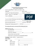 2017 - Supplementary Regulations SR Tarald Haaland - Updated - 01.06.17