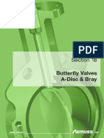 18 Butterfly Valves a Disc Bray