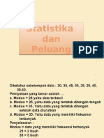 Statistika Dan Peluang Utk Pak Tony 2017