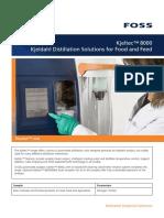 Kjeltec 8000 Solution Brochure GB PDF