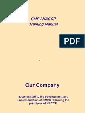 Gmp Haccp Ccp | Hazard Analysis And Critical Control Points