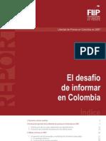 El desafío de informar en Colombia