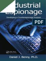 Daniel J. Benny-Industrial Espionage_ Developing a Counterespionage Program-CRC Press (2013)