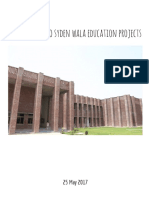 Amal's visit to Syden Wala Education Projects