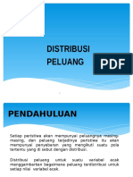 Distribusi Peluang