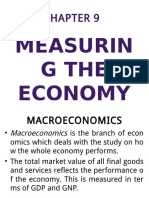 Soc 5 Chapter 9 Measuring the Economy 2