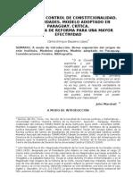 Control de Constitucionalidad en Paraguay