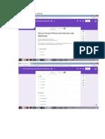 Screenshot Survey Online, Screenshot Data Yang Belum Diproses, Screenshot Data Yang Sudah Diproses, Penjelasan Cara Anda Memproses Data. (JackyRumagit_14013048-REPORT)