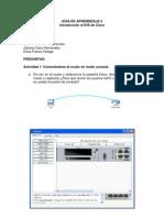 Introduccion Al IOS de Cisco