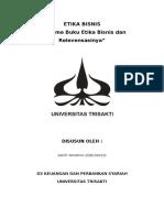 Dokumen etika bisnis