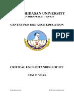 Critical Understanding of Ict_2