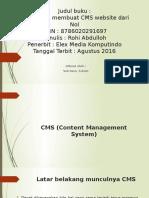 Trik mudah membuat cms website dari nol.pptx