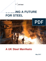 UK Steel Manifesto May 2017