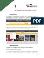 Guía de PRESTO (Préstamo de Libros-e) - BUS