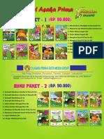 Brosur Buku Paket 90-1-2 BUKU PAUD TK Tahun 2017
