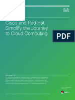 Journey to the Cloud With Cisco UCS and Red Hat Enterprise Linux OpenStack
