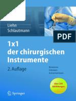 1 215 1 Der Chirurgischen Instrumente