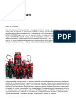 extintores comprar