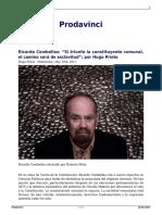 Ricardo Combellas Si Triunfa La Constituyente Comunal El Camino Sera de Esclavitud Por Hugo Prieto