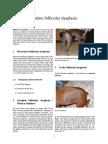 Canine Follicular Dysplasia
