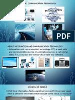 information and communication technology daniel