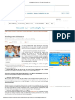 kindergarten dilemmas   parents   scholastic