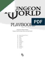 Dungeon World Playbooks