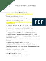 54 Obras de Rubens Saraceni