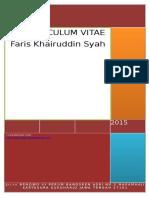 Faris Khairuddin Syah CV