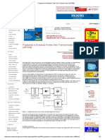 Projetando e Montando Fontes Sem Transformador (ART009)