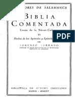 BAC - Biblia comentada, texto de la nácar-Colunga, 6. Hechos de los Apóstoles y Epístolas paulinas - Turrado, Lorenzo.pdf